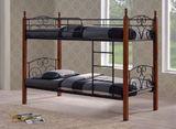 Кровать кованая двухъярусная АF 213 DD