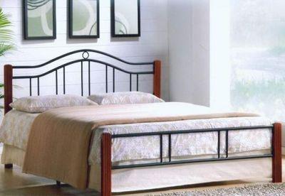 Кровать кованая АТ 9109