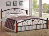 Кровать кованая АТ 9147