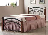 Кровать кованая АТ 9139