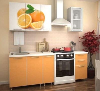 Кухня Апельсин Оранж 1.5 м