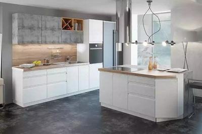 Кухня Бронкс модульная, цвет Доломит-Кварц