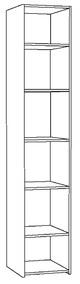 Шкаф комбинированный Амели 08.49