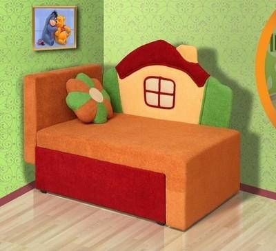 Детский диван Мася 1 (Домик)