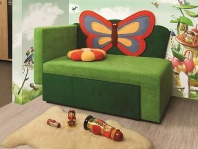 Детский диван Мася 5 (Бабочка)