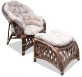 Кресло с подставкой Копакабана