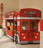 """Кровать """"Автобус - Лондон"""""""