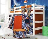 Кровать-чердак Соня 6 с наклонной спинкой