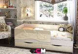 Детская кровать Дельфин-2 матовая
