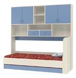 Детская кровать Дельта 21.03 с антресолью