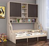 Детская кровать Дельта 21.11 с антресолью