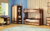 Детская Робинзон с двухъярусной кроватью