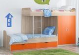 Двухъярусная кровать Дельта 18.04.01