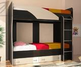 Двухъярусная кровать Мийа с ящиками