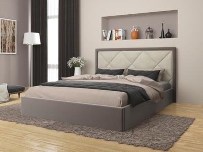 Мягкая кровать 1400 (с ортопедом) Верона