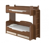 Кровать 2-х ярусная 800 с настилом Робинзон