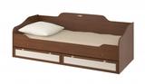 Кровать одинарная 800 с настилом Робинзон