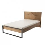Кровать 1200 Оскар с настилом