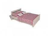 Кровать Соната 1400 (без ортопеда)