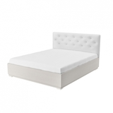 Мягкая кровать Мишель 1600 (без ортопеда)