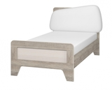 Кровать Тайм с мягким элементом 900 с настилом