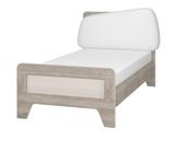 Кровать с мягким элементом 900 с настилом Тайм