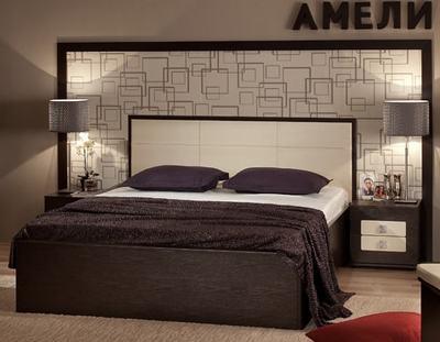 Кровать Амели люкс с подъемным механизмом