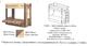 Кровать-чердак с диван-кроватью Немо