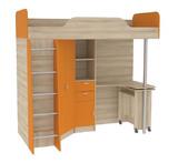 Кровать-чердак со столом Ника 427 Т