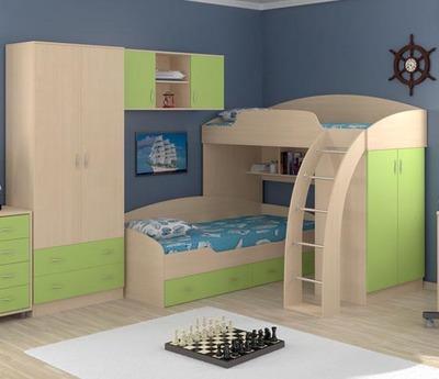 Кровать-чедак Соня 1+2+3