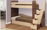 Кровать двухъярусная Адель 3 с матрасами