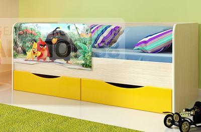 Кровать Энгри / Angry с ящиками