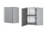 Верхний угловой шкаф АУ-60 (60 см) кухни от МФ Leko