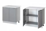 Леко нижний стол с дверцами Н-80 (80 см)