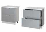Леко нижний стол с 2 ящиками Н-82 (80 см)