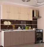 Прямая кухня Лира 2,4 м. Композиция 1