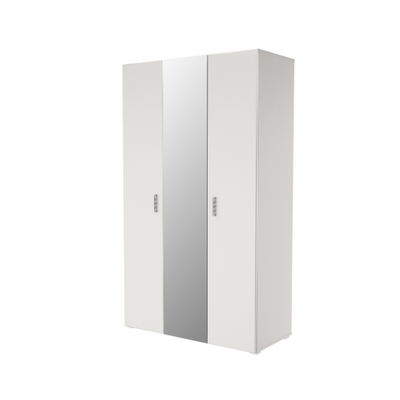 Шкаф 3-х дверный с зеркалом Мишель