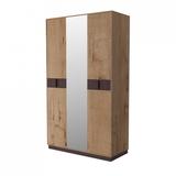 Шкаф 3-х дверный с зеркалом Бруно