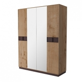 Шкаф 4-х дверный Бруно