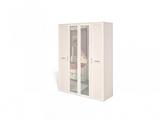 Шкаф для платья и белья 4-х дверный (каркас) Соната