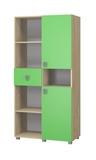 Шкаф для книг Лайф