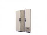 Шкаф для одежды 3-х дверный Тайм