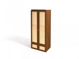 Шкаф для одежды 2-х дверный с ящиками Робинзон