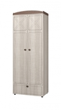 Шкаф для одежды 2-х дверный с ящиками Калипсо