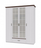 Шкаф для одежды 4х дверный Вентура