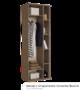 Шкаф с открытыми полками Бьюти