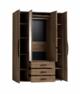 Шкаф для одежды и белья Nature 555 (Натура)