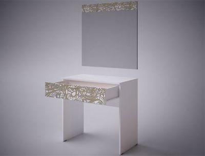 Стол косметический с зеркалом Селена EVO